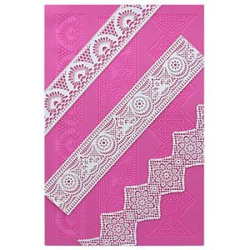 Claire Bowman Cake Lace Mat - Art Deco Lace