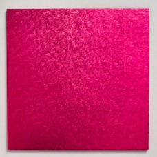12'' Square Drum Board - Hot Pink