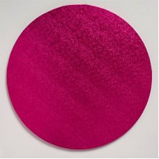 12'' Round Drum Board - Hot Pink