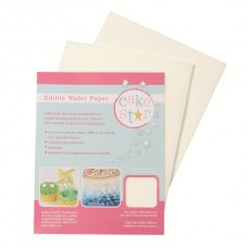 Cake Star Edible Wafer Paper - White