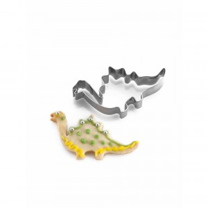 Set of 4 Dinosaur Cookie Cutters