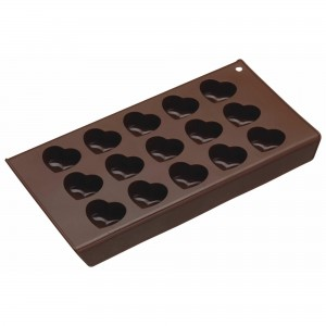 Chocolate Hearts Silicone Mould