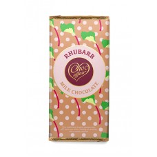 Choc Affair Rhubarb Milk Chocolate Bar