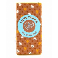 Choc Affair Salted Caramel Milk Chocolate Bar
