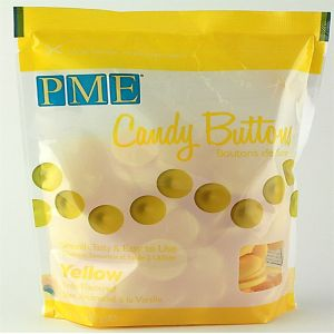 Candy Buttons - Yellow