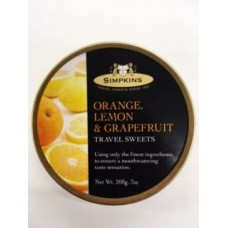 Simpkins Orange, Lemon & Grapefruit Travel Sweets