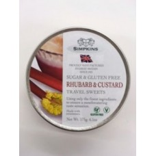 Simpkins Sugar Free Rhubarb & Custard Travel Sweets